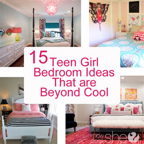 Teen Girl Bedroom Ideas  15 Cool Diy Room Ideas For