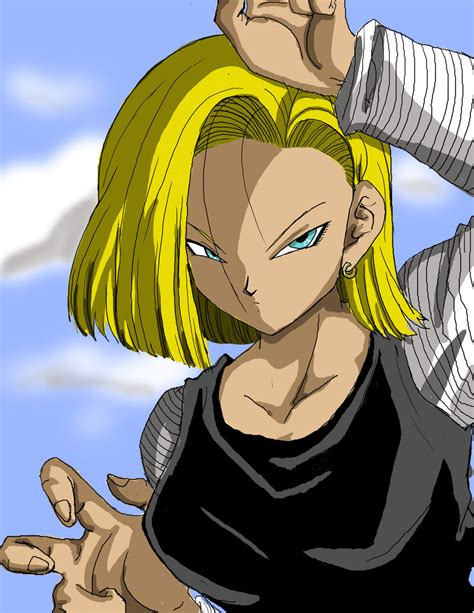 android 18 android 18 by tturner5 on deviantart