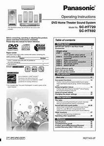 Panasonic Scht692 Home Theater Download Manual For Free