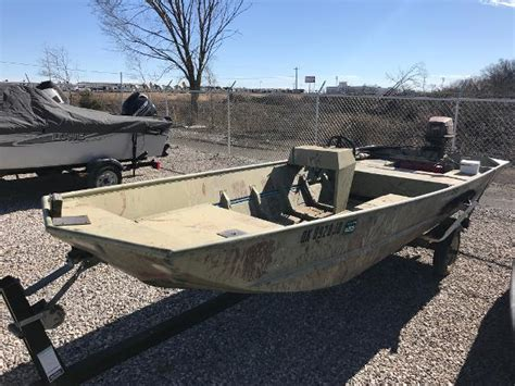 Jon Boats For Sale Used by Used Jon Boats For Sale 4 Boats