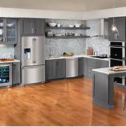 Delectable White Kitchen Cabinets Slate Floor Gallery Table Decorating Ideas Images In Kitchen Contemporary Design Ideas