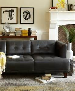 alessia leather bench furniture macy s