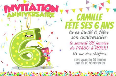Unique Invitation 6 Ans Pour Bella Princess Party