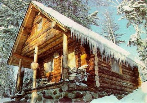 small log cabin   woods favethingcom