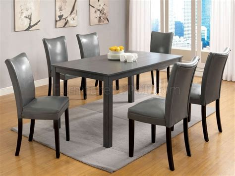 Grey Dining Room Sets With Chairs