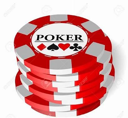 Gambling Chips Clip Clipart Vector Poker Casino