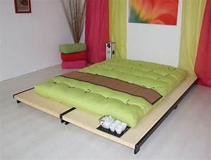 Lit Japonais Ikea : futon tatami ikea lit deux matelas vasp ~ Teatrodelosmanantiales.com Idées de Décoration