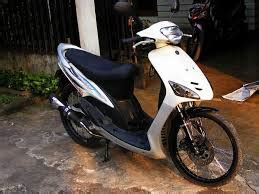 Modif Mio Sporty Velg 17 by Modifikasi Mio Sporty Velg 17 Jari Jari Ruojun