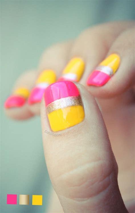 cool metallic nail designs   pretty designs