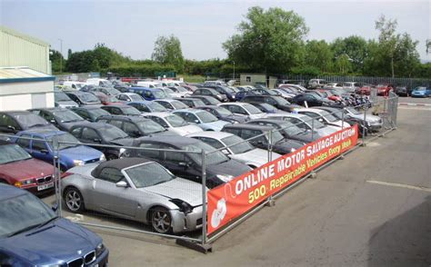 salvage cars damaged cars for sale car auction asm auto recycling