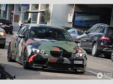 BMW E93 M3 im Military Style vom Tuner Hamann Der Tuning
