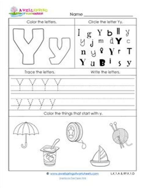 colors that start with y abc worksheets letter y alphabet worksheets a wellspring