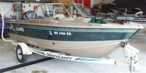 Used Aluminum Fishing Boats For Sale Craigslist by Boats For Sale 1995 18 Foot Lund 1750 Tyee Gran Sport