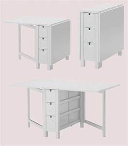 Ikea Klapptisch Weiß : ikea norden klapptisch weiss ovp nagelneu 10116887 ebay ~ Orissabook.com Haus und Dekorationen