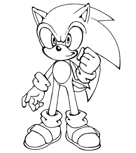 Sonic the hedgehog, often simply known as sonic, is the title character from the video game series with the immense popularity of the game, the main character featured on a range of kid's items like backpacks, umbrellas, pencil boxes and coloring pages. Sonic Coloring Pages - Free Printable Coloring Pages for Kids