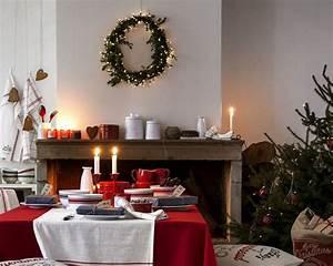 Table De Noel Traditionnelle : d co table no l rouge et blanc 50 id es ~ Melissatoandfro.com Idées de Décoration