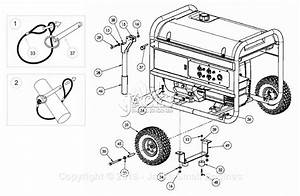 Powermate Formerly Coleman Pm0496500 Parts Diagram For