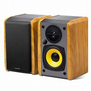 Edifier, Powered, Bluetooth, Speakers, Wood