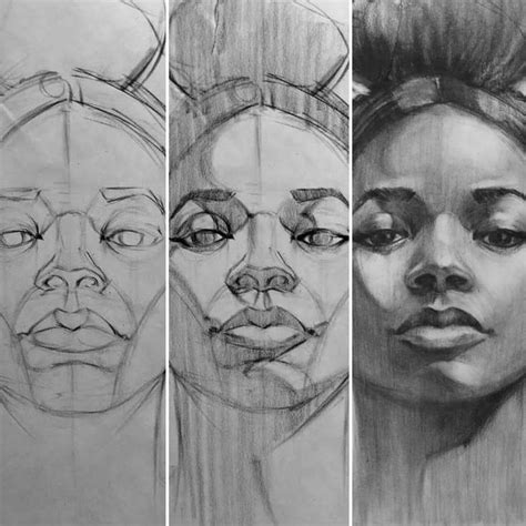 drawing portraits ideas  pinterest drawing