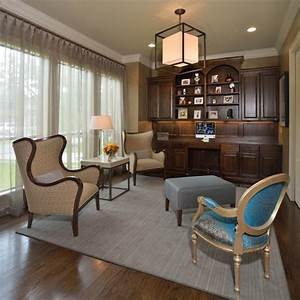 Reading Room Retreat - Transitional - Home Office