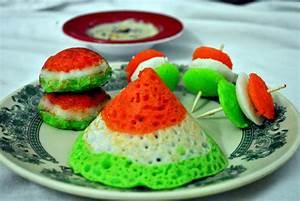 Tricolor South Indian Breakfast Recipe, Tricolored Idli
