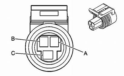 Coolant Sensor Temp Wire Connector Temperature Diagram