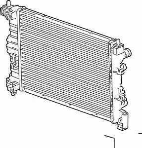 Chevrolet Sonic Radiator  Cooling  Manual  Make