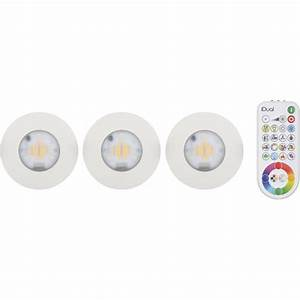 elegant kit spots encastrer salle de bains idual fixe led With carrelage adhesif salle de bain avec spot led encastrable orientable extra plat