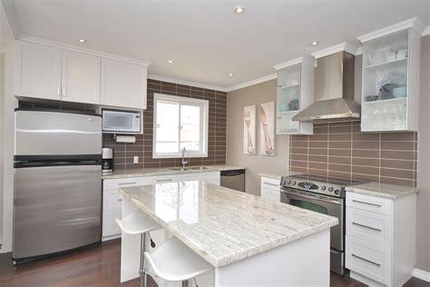 kitchen white shaker cabinets river white granite