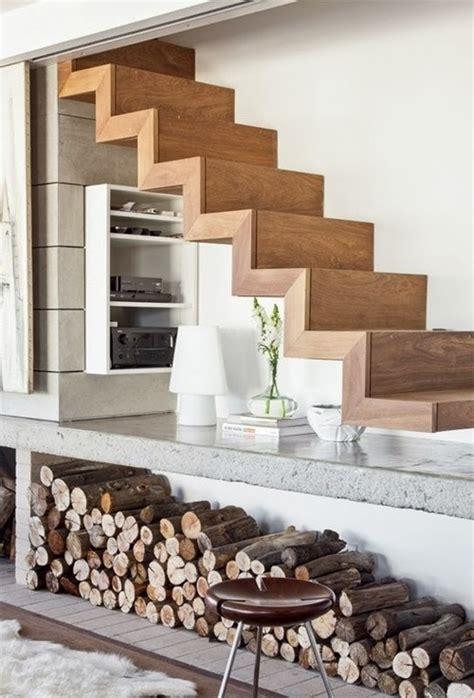 escalier moderne bois 19