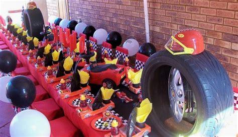racing car birthday party ideas birthday party ideas