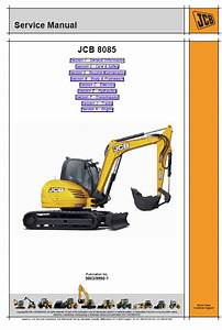 Jcb 8085 Midi Excavator Service Manual