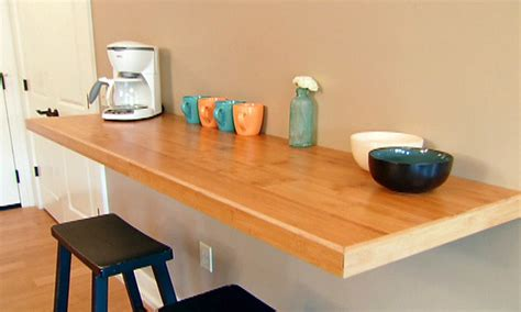 Wall Table Ideas Wall Mounted Kitchen Counter Wall