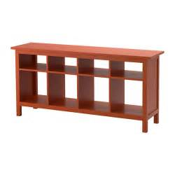 hemnes sofa table red brown ikea