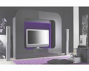 Meuble tv avec haut parleur artzein throughout meuble tv for Meuble tv encastrable design