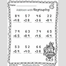 Christmas Freebieprint And Go  Recipes  Second Grade Math, 2nd Grade Math Worksheets, 2nd