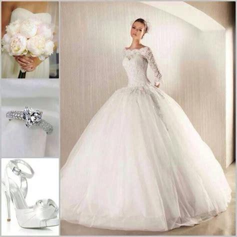 dress wedding sleeves princess ring engagement ring