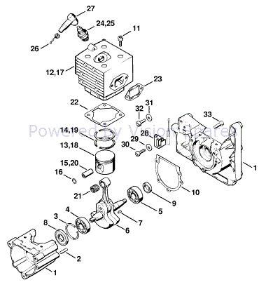 Parts Diagram Stihl 036