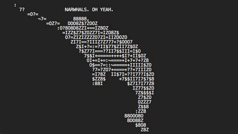 discovering  hidden ascii art   pages   web