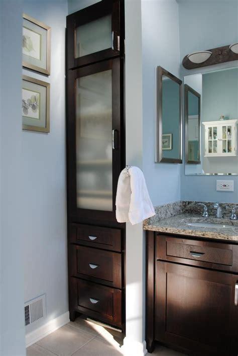bathroom linen cabinet ideas  pinterest