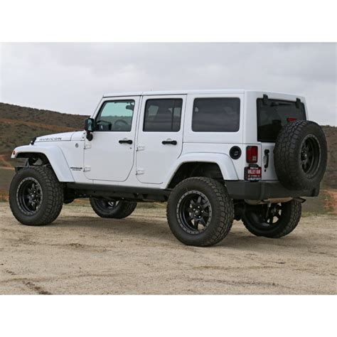 how make cars 2007 jeep wrangler parking system 2007 2018 jeep jk 4 5 quot suspension system stage 2 k24002