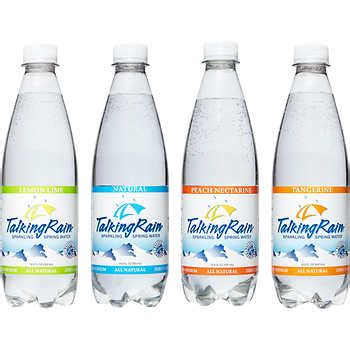talking rain sparkling water variety pack  oz  ct