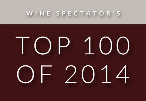 All Lists Of Top 100 Wines  Top 100 Of 2014  Wine Spectator