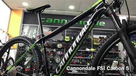 cannondale fsi carbon 2 modelo cannondale fsi carbon 5 modelo 2018
