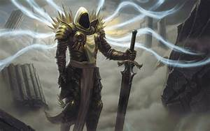 Angels, Video, Games, Wings, Fantasy, Art, Armor, Tyrael