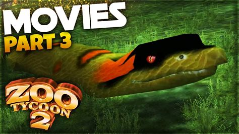 Boat Ride Movie by Giant Anaconda Boat Ride Zoo Tycoon 2 The Movie Zoo