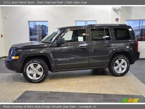 Dark Charcoal Pearl 2011 Jeep Patriot Sport Dark Slate