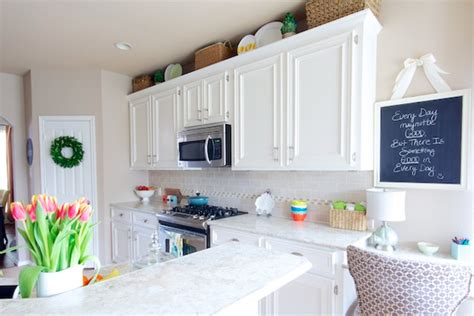 Kitchen Makeover Goes White With Paint And Laminate