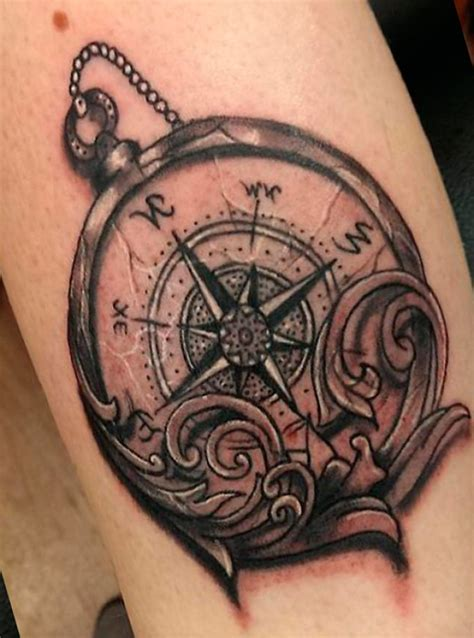 stunning compass tattoo designs  tattoo lovers