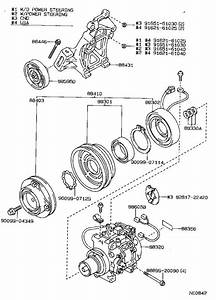 Toyota Corolla Clutch Assembly  Magnet  Compressor  Conditioning  Air